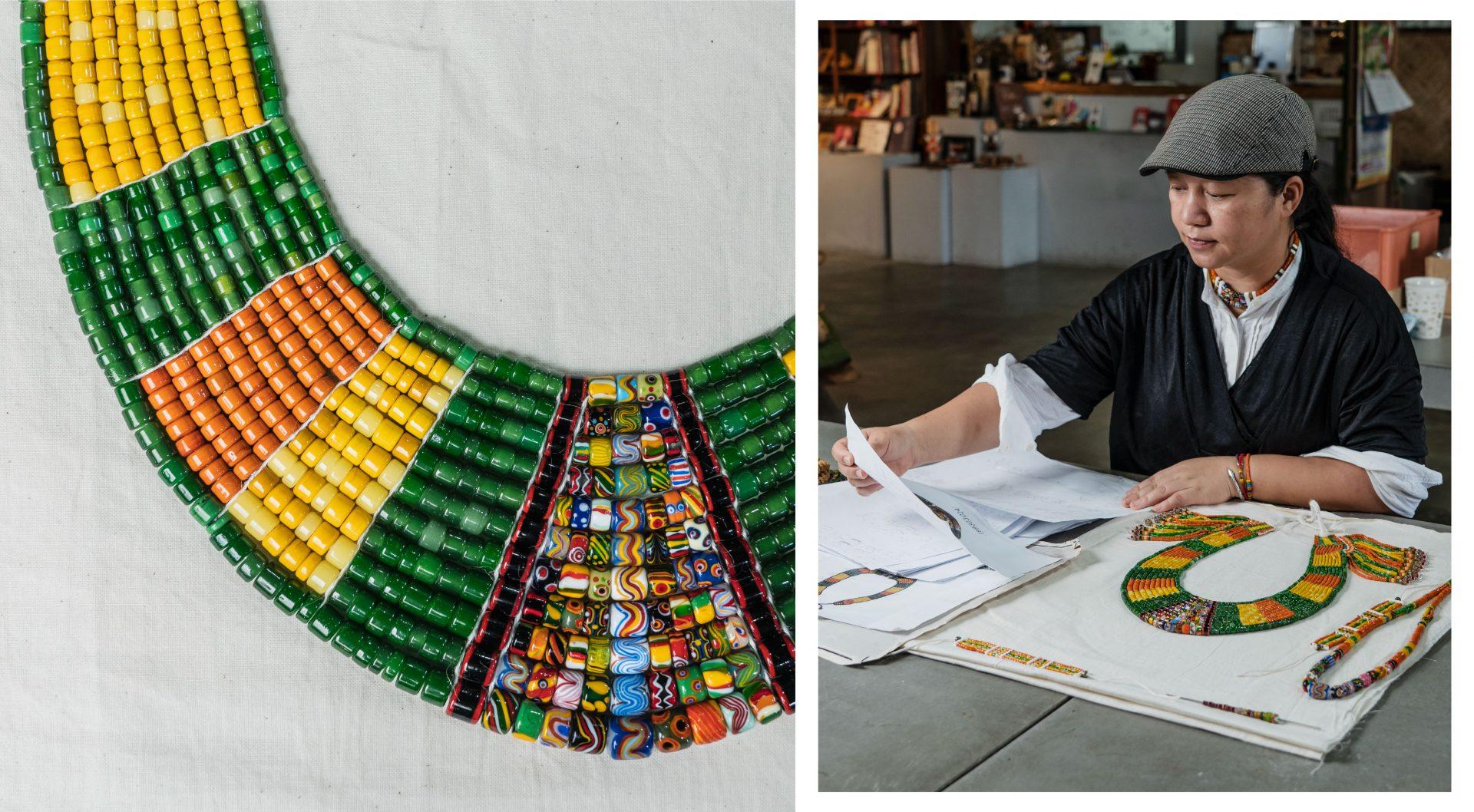 搭建一座橋樑 用部落工藝文化 串連傳統與創新 對接歷史與未來: 卡塔文化 / 這裡R~ 原味工藝聚落 林秀慧
