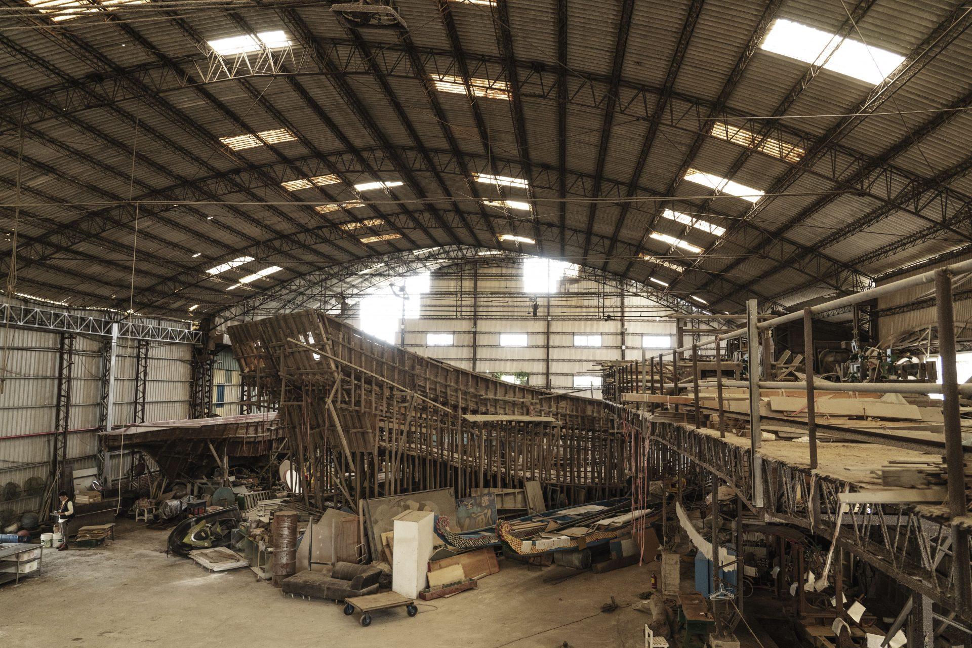 旅行南寮百年時光 看造船製冰漁港風華