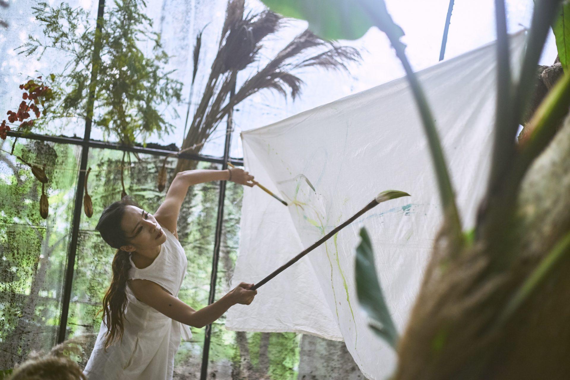 藝術讓生命種下自由種子,在心中長成茂密森林: 專訪〈走探索去藝術實驗室〉Milla