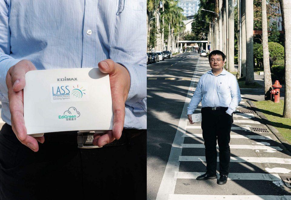 自己的環境自己救 研究室外的一場公民科學行動: 空氣盒子 陳伶志